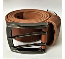 Ремень мужской Belt Premium Black Angus коричневый