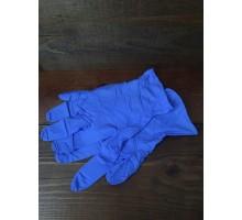 Перчатки одноразовые нитрил. Eco 02-01 смотр.нестерильные диагност. S  синие