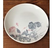 "Тарелка Соната ""Серебристые розы"" 190 мм"