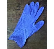 Перчатки одноразовые нитриловые медицинские смотровые BI-SAFE раз.S  синие