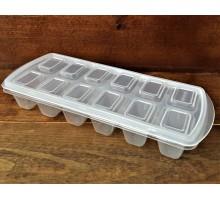 Формочка для льда с крышкой 12 ячеек