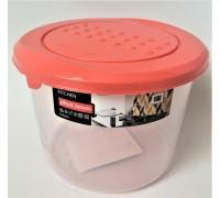 Ёмкость для хранения продуктов Pattern круглая 0,8 л