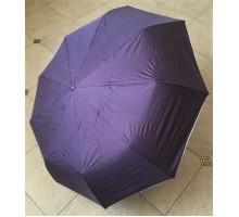 Зонт автомат Diniya арт.828 однотонный рисунок внутри