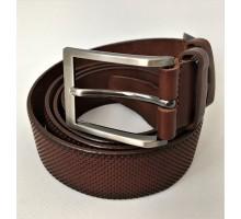 Ремень мужской Mr. Belt 1991 коричневый