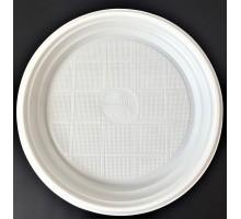 Тарелка D-205 Белая