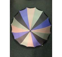 Зонт трость арт.К607 разноцветный