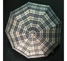 Зонт женский автомат Popular Клетка - Бур-Бур