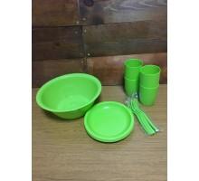 Набор посуды для пикника Витто 4 персоны