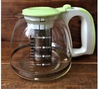 Чайник заварочный стеклянный 1300 мл 1121-1300