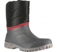 Сапоги для защиты от снега теплые водонепроницаемые мужские средние SH100 WARM. QUECHUA