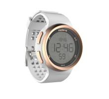 Часы-секундомер W900М бело-золотые KALENJI