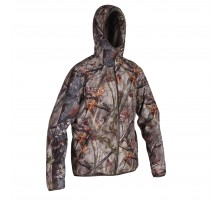 Куртка для охоты водонепроницаемая камуфляжная 500 SOLOGNAC