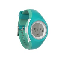 Часы-секундомер для бега W200 s бирюзовые KALENJI