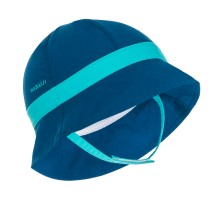 Панамка солнцезащитная для плавания детская синяя NABAIJI