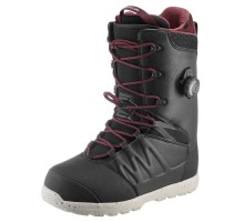 Ботинки для сноуборда мужские черные Freestyle/All Mountain, Endzone DREAMSCAPE