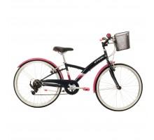 Подростковый городской велосипед ORIGINAL 500 24  9-12 лет BTWIN