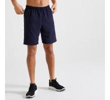 Шорты мужские для фитнеса темно-синие DOMYOS