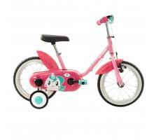 Детский велосипед от 3 до 4,5 лет прогулочный 14  Unicorn 500 BTWIN