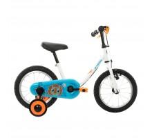 Детский велосипед от 3 до 5 лет прогулочный 14  PETITBLUE 100 BTWIN