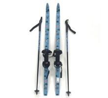 Детский комплект(лыжи+палки) XC S 50B + крепление INOVIK