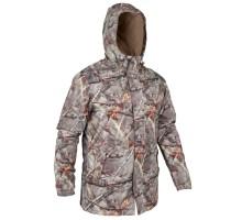 Теплая камуфляжная куртка для охоты 100 Camo br SOLOGNAC