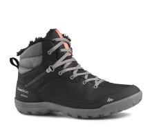 Ботинки женские для зимних походов SH100 WARM MID QUECHUA