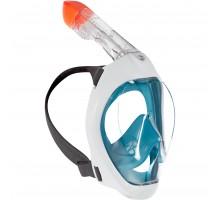 Оригинальная маска для снорклинга на поверхности воды Easybreath 500 SUBEA