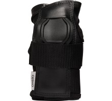 Защита запястий для роликов, скейтбордов для взрослых черно-серая FIT500 OXELO