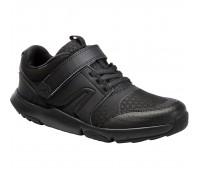 Кроссовки для ходьбы Actiwalk детские черные NEWFEEL