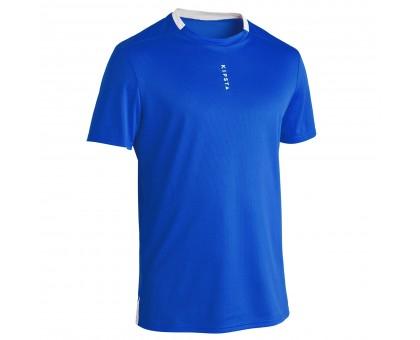 Футболка мужская F100 синяя KIPSTA