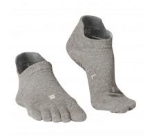 Носки для йоги 5 пальцев нескользящие DOMYOS