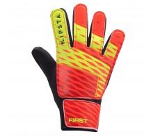 Вратарские перчатки дет. First  KIPSTA