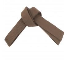 Пояс для кимоно 2,0 м коричневый RU OUTSHOCK