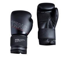 Боксерские перчатки 120 тренировочные черные OUTSHOCK
