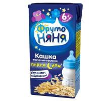 Кашка ФрутоНяня молочная овсяная 0.2л с 6месяцев