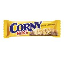 Батончик злаковый CORNY банан/молочный шоколад 50г