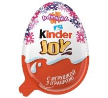 Яйцо шоколадное Kinder Джой для девочек 20г