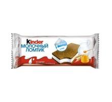 Батончик Ferrero Киндер молочный ломтик 28 г