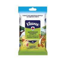 Салфетки влажные Kleenex Disney антибактериальные 10шт