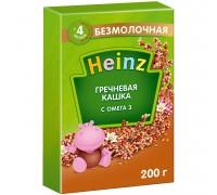Каша безмолочная Heinz с Омега 3 гречневая 200г с 4месяцев