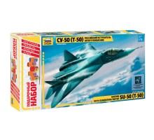 Подарочный набор Звезда Самолет СУ-50