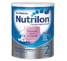 Смесь молочная Nutrilon 2 гипоаллергенная 400г с 6 месяцев