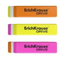 Набор 3 ластика ErichKrause DRIVE в блистере