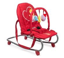 Шезлонг детский Babyton Red