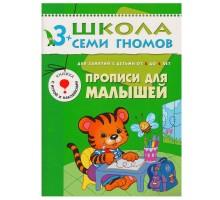 Прописи для малышей Мозаика-Синтез (ШСГ 4-й год обучения)