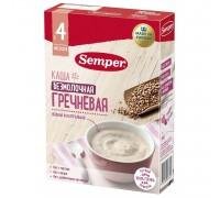 Каша Semper безмолочная гречневая 180г с 4 месяцев