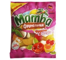 Жевательный мармелад MAMBA фрукты и йогурт 72г