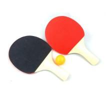 Игровой набор Deex Настольный теннис 2 ракетки 23 см мячик 3.5 см в полибеге