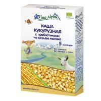 Каша Fleur Alpine кукуруза козье молоко 200 г с 5 месяцев