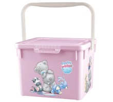 Унивесальный контейнер Пластишка с аппликацией Розовый ME TO YOU